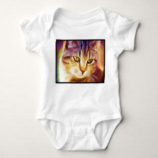 Tabby Cat Art baby shirt