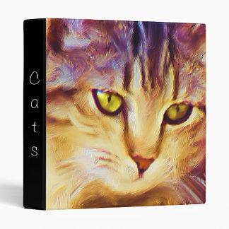 Tabby Cat Art binder