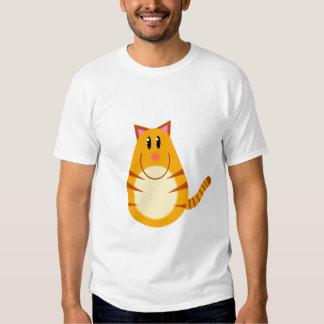 Tabby Cat Cartoon T Shirt