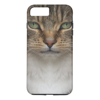 Tabby Cat Face Tough iPhone 7 Plus Case