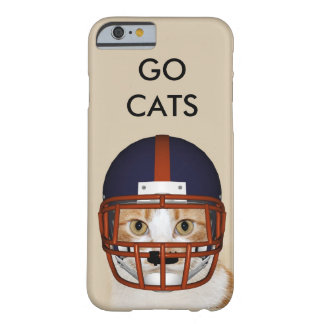 Tabby cat football player barely there iPhone 6 case
