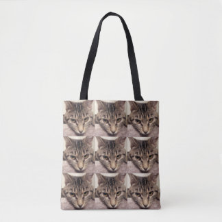 Tabby Cat-Instagram by Shirley Taylor Tote Bag