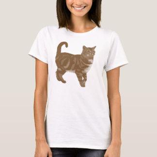 Tabby Cat Kitten T-Shirt