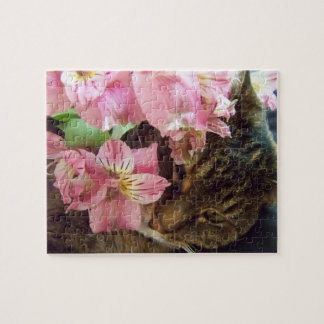 Tabby Cat Lita Puzzle