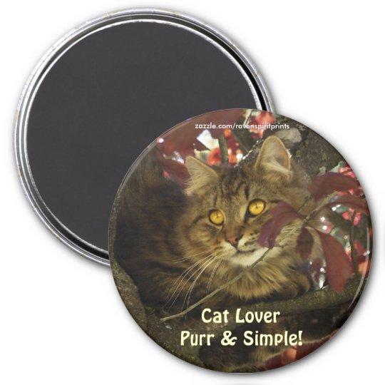 TABBY CAT LOVER Magnets