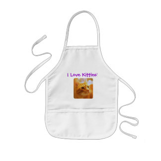 Tabby Cat Lovers Kids' Apron