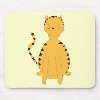 Tabby Cat on a Mousepad