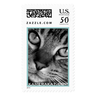 Tabby Cat Postage