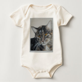 Tabby Cat - samantha Rompers
