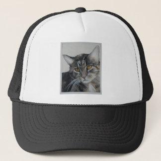 Tabby Cat - samantha Trucker Hat