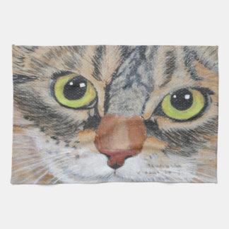 Tabby Cat Towel