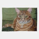 Tabby Cat Towels