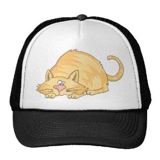 tabby cat trucker hat