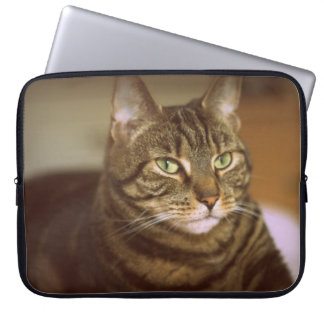 Tabby Cat Vintage 1960s Computer Sleeve