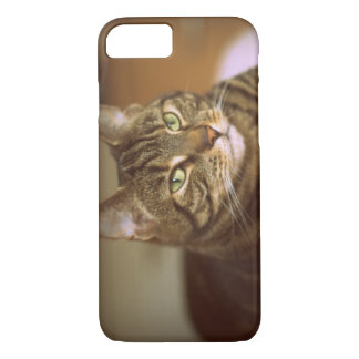 Tabby Cat Vintage 1960s iPhone 8/7 Case