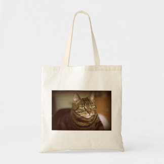 Tabby Cat Vintage 1960s Style Tote Bag