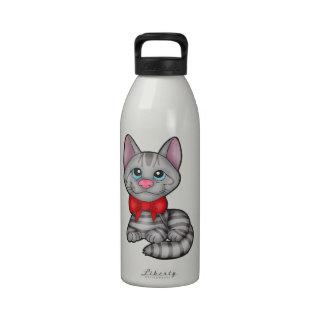 Tabby Cat Drinking Bottles