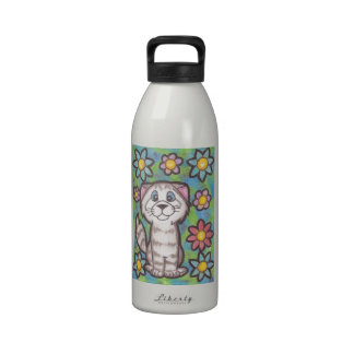 Tabby Cat Reusable Water Bottle