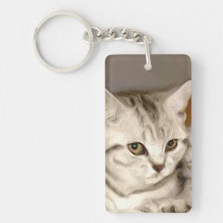 Tabby Cats Keychain