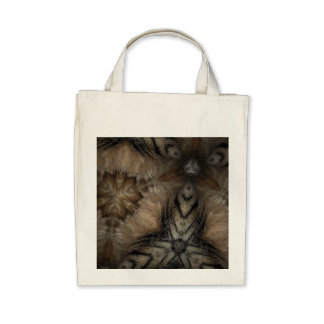 Tabby fur bag