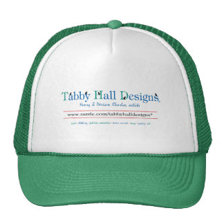 Tabby Hall Designs Trucker Hat
