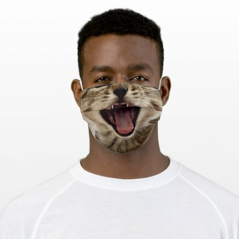Tabby Kitten Adult Cloth Face Mask