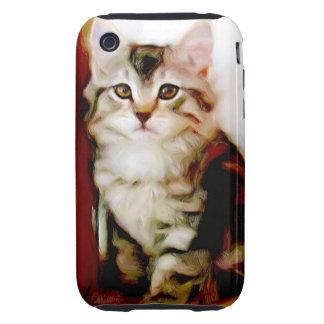 Tabby Kitten iPhone 3 Tough Case