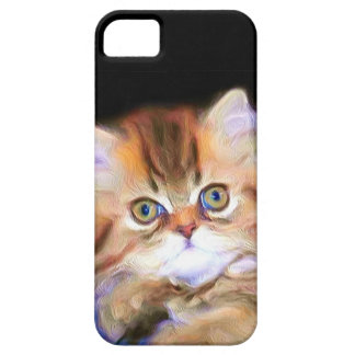 Tabby kitten iPhone 5 Case-Mate phone case