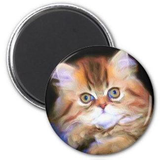 Tabby Kitten magnet