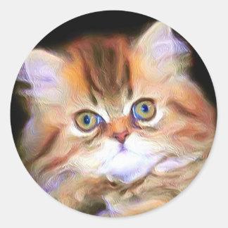 Tabby Kitten stickers