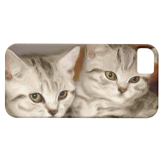 Tabby kittens iPhone 5 Case-Mate phone case