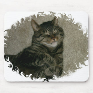 Tabby Kitty Cat Mousepad