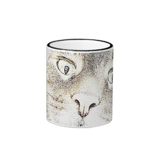 Tabby Kitty Lita Sketch Mug