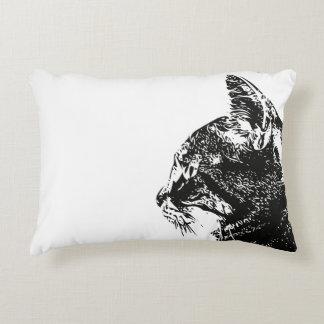 Tabby Kitty Pillow