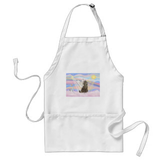 Tabby Norwegian Forest Cat  - Angel Adult Apron