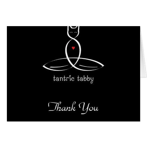 Tabby Tantric - texto de lujo del estilo Felicitacion