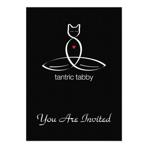 Tabby Tantric - texto regular del estilo Invitacion Personalizada