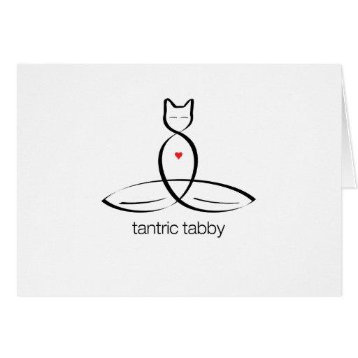 Tabby Tantric - texto regular del estilo Felicitaciones