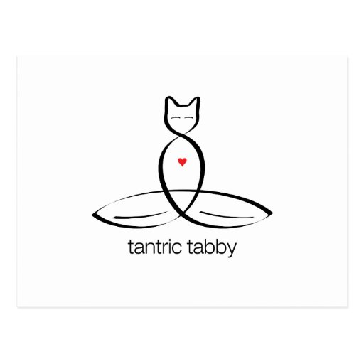 Tabby Tantric - texto regular del estilo Postales
