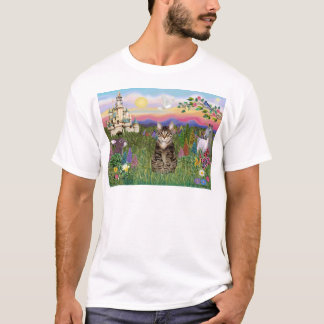 Tabby Tiger Cat  - The Castle T-Shirt