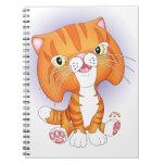 """Tabby Tom"" Orange Cat Notebook"