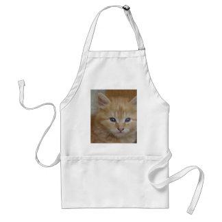 Tabby Tomcat Kitten Adult Apron