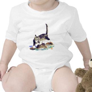Tabby Trek - Tiger kitty's Adventure T-shirt