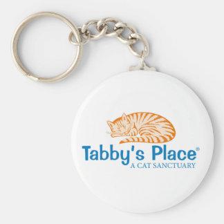 Tabby's Place Keychain