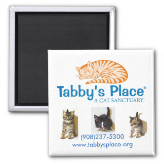 Tabby's Place magnet