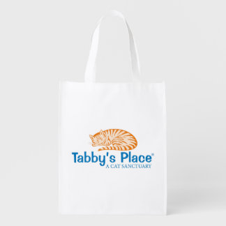 Tabby's Place Reuseable Shopping Bag