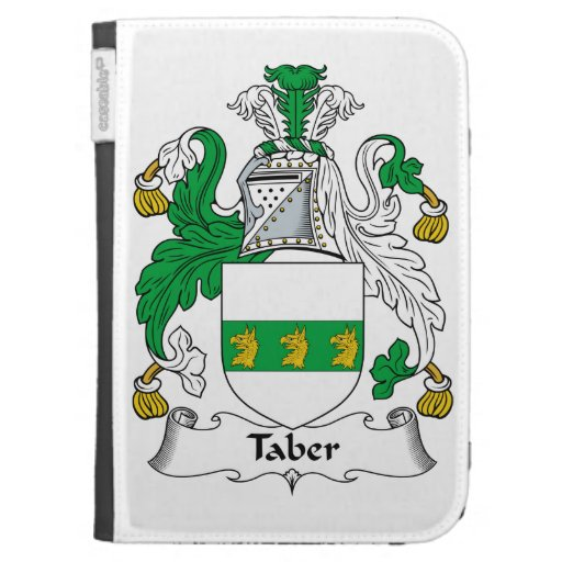 Taber Family Crest Cases For The Kindle