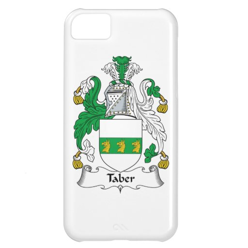 Taber Family Crest iPhone 5C Cover