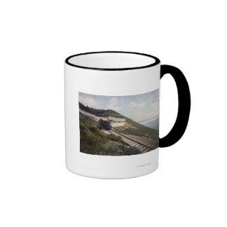 Taberna de la opinión de Tamalpais de Mt Diablo Tazas De Café