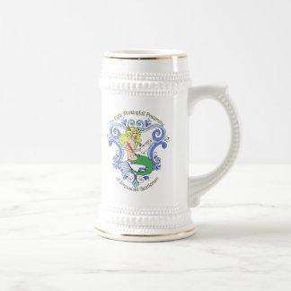 Taberna de la sirena (color) jarra de cerveza